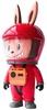 Red Labubu Astronaut