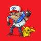 Old Ash & Old Pikachu