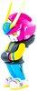PirateTEQ-47 Neo-Tokyo Pink TEQ63 (Mindzai Exclusive)
