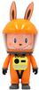 "7"" Orange Astronaut Labubu"