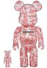 100% + 400% Atmos x Coca-Cola Be@rbrick (Set)