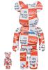 100% + 400% Atmos x Checkboard Coca-Cola Be@rbrick (Set)