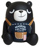Log-on Bear (Black Variant)