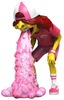 Fast Food Pink Vomit Kid
