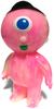 Marbled Pink Glow Tofu Kid