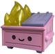Pink Glitter Flame Dumpster Fire (DCon '19)