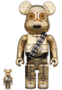100% + 400% C-3P0 : The Rise of Skywalker Be@rbrick (Set)