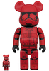 100% + 400% Sith Trooper : The Rise of Skywalker Be@rbrick (Set)