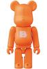 Orange Basic Be@rbrick 'B'