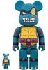 100% + 400% Slash : Teenage Mutant Ninja Turtles Be@rbrick (Set)
