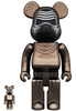 100% + 400% Chrome Kylo Ren : The Rise of Skywalker Be@rbrick (Set)