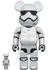100% + 400% First Order Trooper : The Rise of Skywalker Be@rbrick (Set)