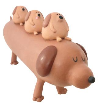 Sausage_and_her_pups-sad_salesman_eric_althin-mixed_media-trampt-308778m
