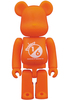 Orange Basic Be@rbrick 'Project 1/6'