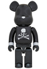 1000% Black Chrome Mastermind Japan Be@rbrick