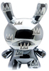 "8"" Swarovski Crystal Black Chrome Masterpiece Legacy Dunny"