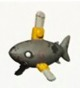 Zombie chainsaw shark