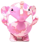 Pink Camo Charlie The Angry Elephant (Galerie F Exclusive)