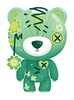 Four Leaf Clover Raggedy Teddy