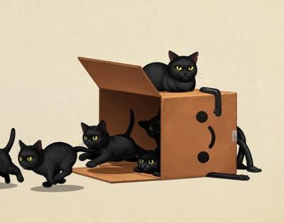 Boxo_ii_kitties-mike_mitchell-gicle_art_print-trampt-311638m