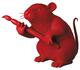 Red Love Rat