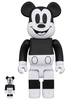 100% + 400% Black & White Mickey Mouse (Set)
