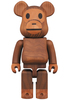 400% Wooden Baby Milo Be@rbrick