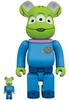 100% + 400% Alien : Toy Story Be@rbrick