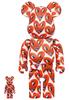 100% + 400% Keith Haring #6 Be@rbrick (Set)