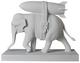 White Elephant with Bomb