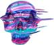 Blown Away Star Skull