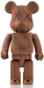 400% Wood WWT Be@rbrick
