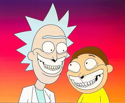 Rick_and_morty_grin-ron_english-gicle_art_print-self-produced-trampt-315538m