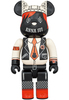 1000% Red & Beige Anna Sui Be@rbrick