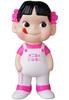 White & Flourescent Pink Pek0-chan