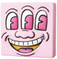 Pink Three Eye Smiling Face Mini VCD