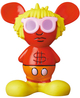 Red & Orange Andy Mouse Mini VCD