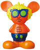 Orange & Yellow Andy Mouse Mini VCD