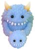 Blue Monster Fluffy Set