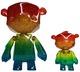 Rainbow Kuma Cub set