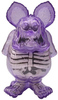 Neon Purple X-Ray Rat Fink