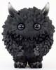 Black & Clear Monster Fluffy