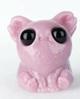 Dusty Pink Carnival Glass Smidgen
