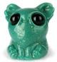 Turquoise Carnival Glass Smidgen