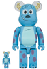 100% + 400% Sully : Monsters Inc. Bearbrick (set)