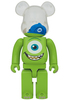 1000% Mike : Monsters Inc. Bearbrick