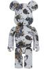 1000% Splash Jackson Pollock Bearbrick