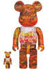 100% + 400% Autumn Leaves My First Be@rbrick B@by (Set)