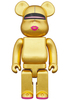 400% Pure Gold Lear Bearbrick
