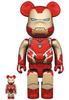 100% + 400% Iron Man Mark 85 : Avengers Endgame (Set)